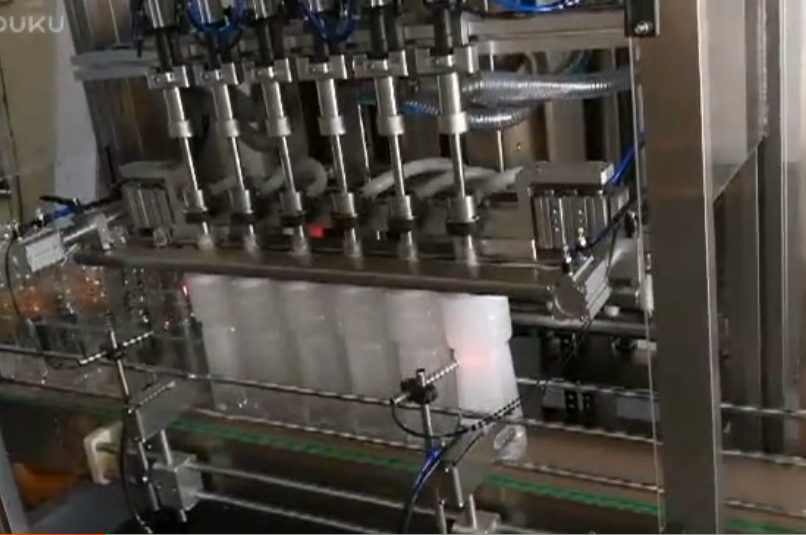 automatic filling machine for liquid with bubble